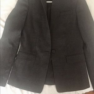 J. Crew Jackets & Coats - J. Crew Blazer, Charcoal Grey, Size 2, Slim Fit